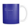 Library Card 11oz Mug
