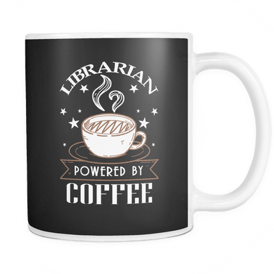 Librarian Powered By Coffee Mug