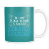 If Lost Please Return To Closest Bookstore Or Library Mug - Awesome Librarians