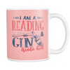 I Am Reading & Gin Kinda Girl Mug