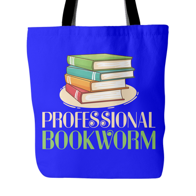 Professional Bookworm Tote Bag