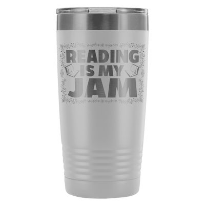 Reading Is My Jam 20oz Tumbler - Awesome Librarians