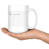 Library Card 15oz Mug