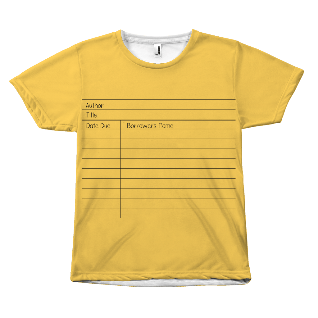 Library Card T-Shirt - Awesome Librarians