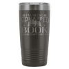 I'm Being Kidnapped By A Book Please Don't Save Me 20oz Tumbler - Awesome Librarians