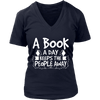 A Book A Day Keeps The People Away Shirt - Awesome Librarians