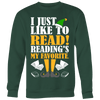 I Just Like To Read Reading's My Favorite Ugly Christmas Sweater - Awesome Librarians