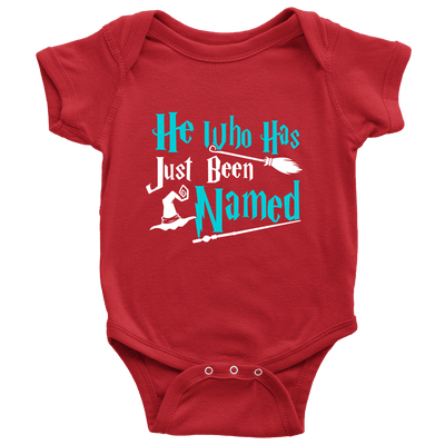 He Who Has Just Been Named Baby Onesie - Awesome Librarians