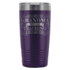 Never Underestimate The Power Of A Grandma With A Teaching Degree 20oz Tumbler