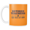 Retired Teacher Every Child Left Behind Mug - Awesome Librarians - 10