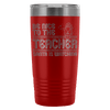 Be Nice To The Teacher, Santa Is Watching 20oz Tumbler - Awesome Librarians