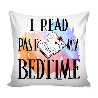 I Read Past My Bedtime Pillow Cover - Awesome Librarians