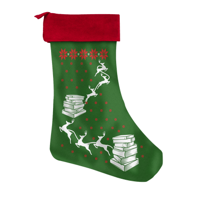 Book Lover's Christmas Stocking - Awesome Librarians