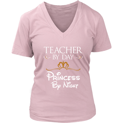 Teacher By Day Princess By Night Shirt