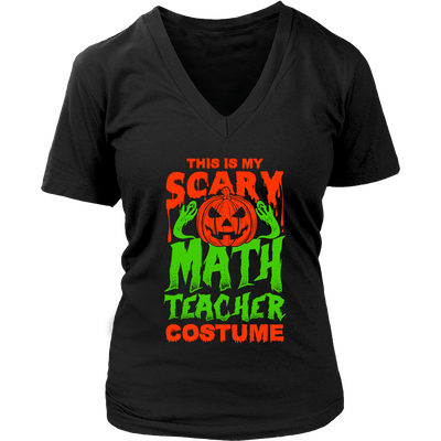 This Is My Scary Math Teacher Costume - Awesome Librarians - 11