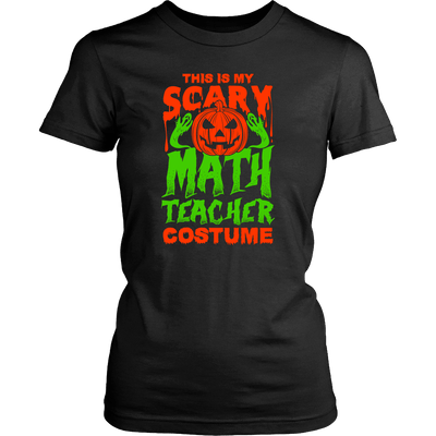 This Is My Scary Math Teacher Costume - Awesome Librarians - 1