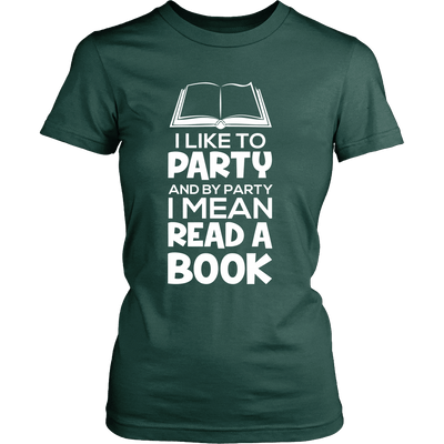 I Like To Party And By Party I Mean Read A Book - Awesome Librarians - 11