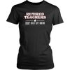 Retired Teacher Every Child Left Behind Shirt - Awesome Librarians - 5