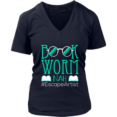 Book Worm Nah #Escape Artist Shirt - Awesome Librarians - 11