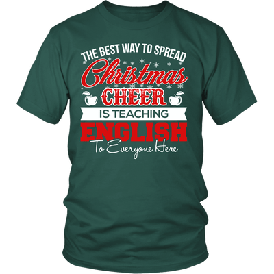 The Best Way To Spread Christmas Cheer Is Teaching English - Awesome Librarians - 1