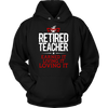 Retired Teacher Earned It Living It Loving It Shirt - Awesome Librarians - 13
