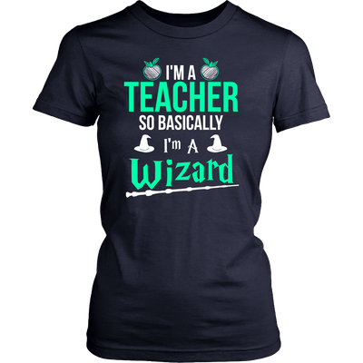 I'm Teacher So Basically I'm A Wizard - Awesome Librarians
