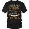 A Book Is A Dream You Hold In Your Hands Shirt - Awesome Librarians