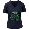 I Am A Book Dragon Not A Worm Shirt - Awesome Librarians - 12