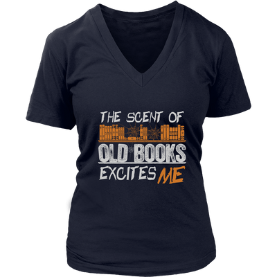 The Scent Of Old Books Excites Me Shirt - Awesome Librarians