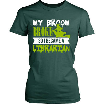 My Broom Broke So I Became A Librarian - Awesome Librarians - 11