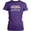 Retired Teacher Every Child Left Behind Shirt - Awesome Librarians - 6