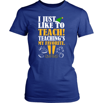I Just Like To Teach! Teaching's My Favorite - Awesome Librarians - 7