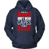 Real Heroes Don't Wear Capes They Teach Shirt - Awesome Librarians - 2
