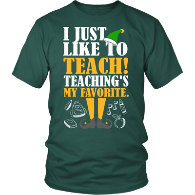 I Just Like To Teach! Teaching's My Favorite - Awesome Librarians - 5
