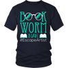 Book Worm Nah #Escape Artist Shirt - Awesome Librarians - 2