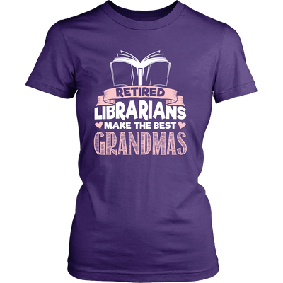 Retired Librarians Make The Best Grandmas - Awesome Librarians - 8