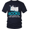 Books Life's Apology For Every Crappy Day Ever Shirt - Awesome Librarians - 4