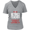 Retired Teacher Earned It Living It Loving It Shirt - Awesome Librarians - 10