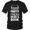 I Like To Party And By Party I Mean Read A Book - Awesome Librarians - 4