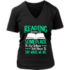 Reading Gives Us Someplace To Go When We Have To Stay Where We Are Shirt - Awesome Librarians - 8