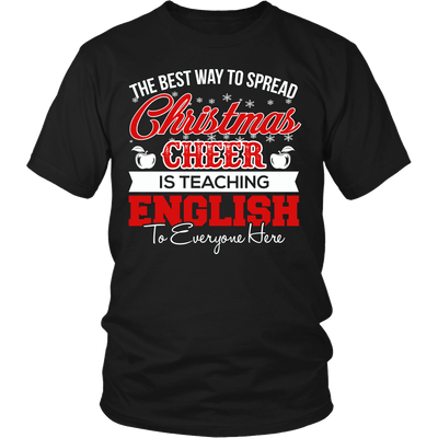 The Best Way To Spread Christmas Cheer Is Teaching English - Awesome Librarians - 3