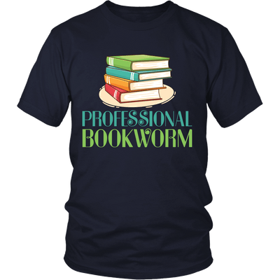 Professional Bookworm Shirt - Awesome Librarians - 5
