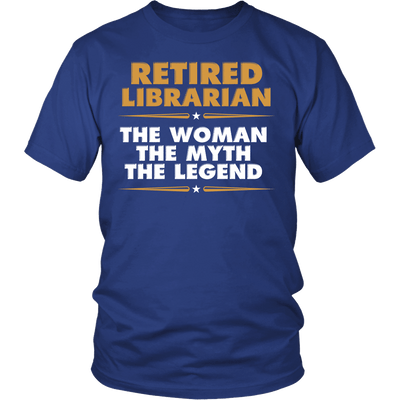 Retired Librarian The Woman The Myth The Legend - Awesome Librarians - 2