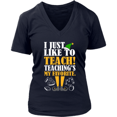 I Just Like To Teach! Teaching's My Favorite - Awesome Librarians - 12