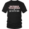 Retired Teacher Every Child Left Behind Shirt - Awesome Librarians - 1