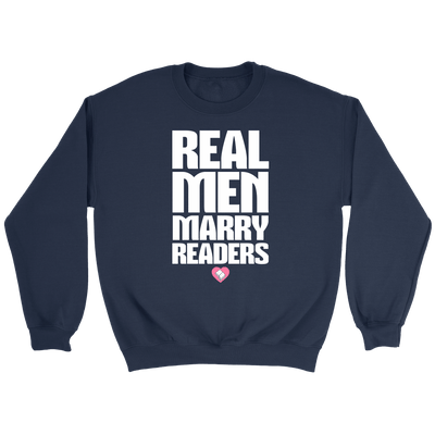 Real Men Marry Readers Shirt