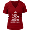 Keep Calm And Pretend It's On The Lesson Plan Shirt - Awesome Librarians - 10