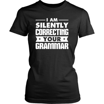 I Am Silently Correcting Your Grammar Shirt - Awesome Librarians - 2