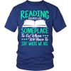 Reading Gives Us Someplace To Go When We Have To Stay Where We Are Shirt - Awesome Librarians - 2