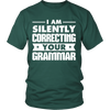 I Am Silently Correcting Your Grammar Shirt - Awesome Librarians - 4